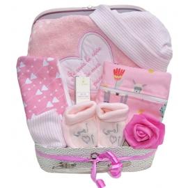 Coffret cadeaux naissance - Bébé fille muslima