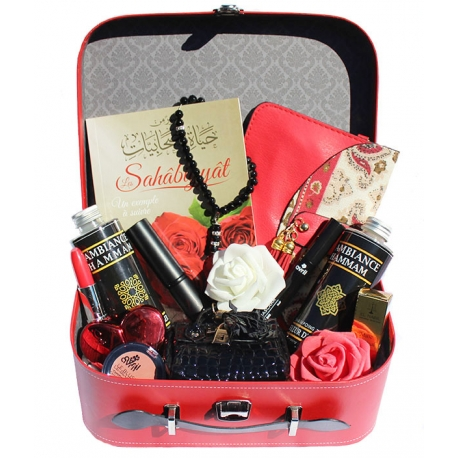 Coffret cadeau femme musulmane - Red Glam